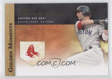 2012 Topps - Golden Moments Series One #GM-46 - Dustin Pedroia
