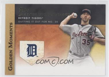 2012 Topps - Golden Moments Series One #GM-9 - Justin Verlander