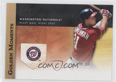 2012 Topps - Golden Moments Series Two #GM-10 - Ryan Zimmerman
