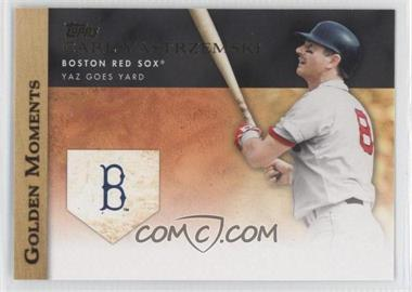 2012 Topps - Golden Moments Series Two #GM-15 - Carl Yastrzemski