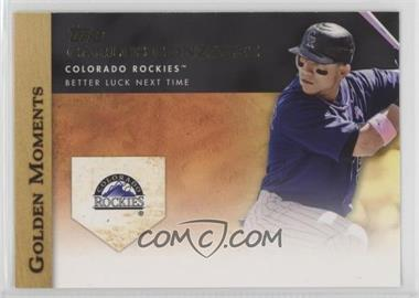 2012 Topps - Golden Moments Series Two #GM-16 - Carlos Gonzalez