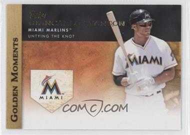 2012 Topps - Golden Moments Series Two #GM-31 - Giancarlo Stanton