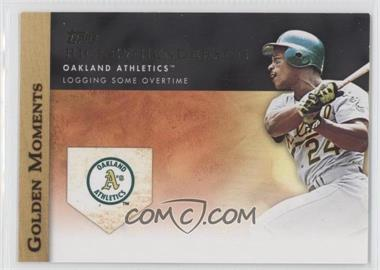 2012 Topps - Golden Moments Series Two #GM-34 - Rickey Henderson