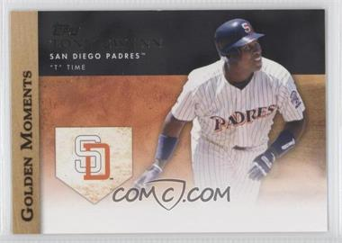 2012 Topps - Golden Moments Series Two #GM-37 - Tony Gwynn
