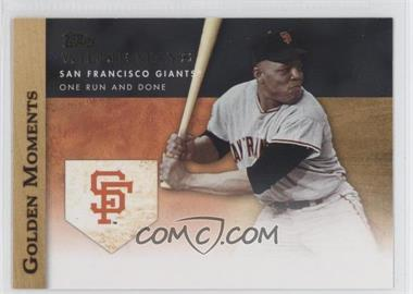 2012 Topps - Golden Moments Series Two #GM-39 - Willie Mays