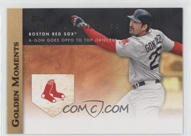 2012 Topps - Golden Moments Series Two #GM-40 - Adrian Gonzalez