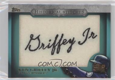 2012 Topps - Manufactured Historical Stitches #HS-KG - Ken Griffey Jr.