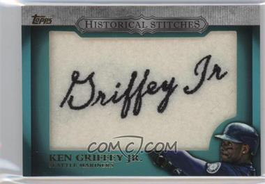 2012 Topps - Manufactured Historical Stitches #HS-KG - Ken Griffey Jr.