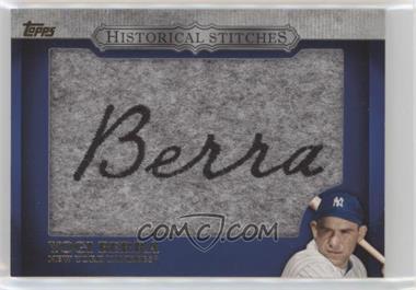 2012 Topps - Manufactured Historical Stitches #HS-YB - Yogi Berra