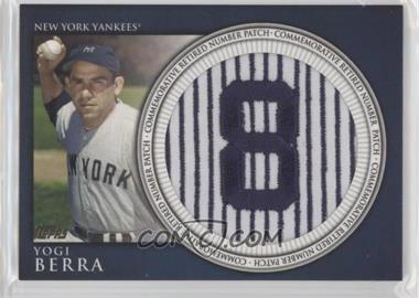 2012 Topps - Manufactured Retired Number Patch #RN-YB - Yogi Berra