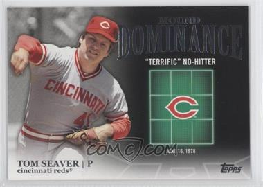 2012 Topps - Mound Dominance #MD-1 - Tom Seaver