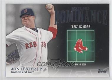 2012 Topps - Mound Dominance #MD-13 - Jon Lester