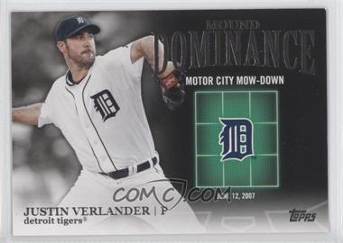 2012 Topps - Mound Dominance #MD-2 - Justin Verlander