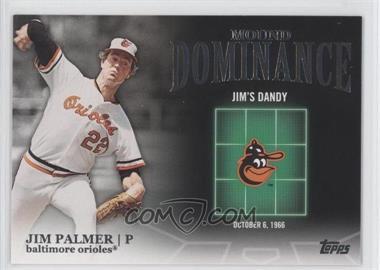 2012 Topps - Mound Dominance #MD-4 - Jim Palmer