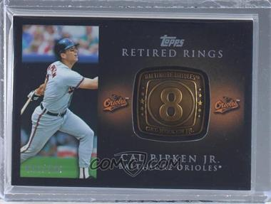 2012 Topps - Retired Rings #RR-CR - Cal Ripken /736