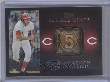 2012 Topps - Retired Rings #RR-JB - Johnny Bench /736