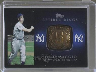 2012 Topps - Retired Rings #RR-JD - Joe DiMaggio /736