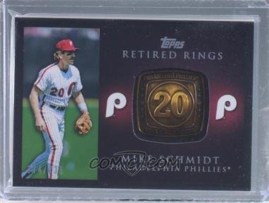2012 Topps - Retired Rings #RR-MS - Mike Schmidt /736