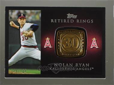 2012 Topps - Retired Rings #RR-NRY - Nolan Ryan /736