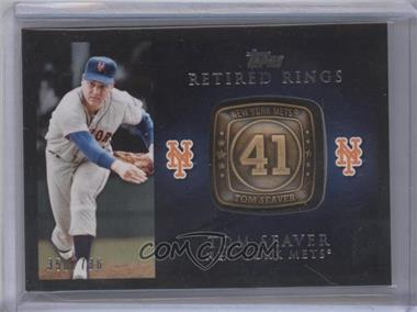 2012 Topps - Retired Rings #RR-TS - Tom Seaver /736
