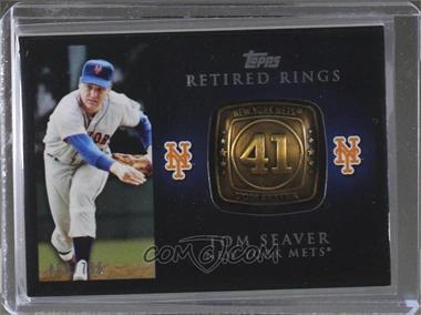 2012 Topps - Retired Rings #RR-TS - Tom Seaver /736