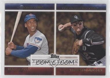2012 Topps - Timeless Talents #TT-20 - Troy Tulowitzki, Ernie Banks