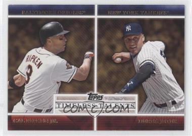 2012 Topps - Timeless Talents #TT-25 - Cal Ripken Jr., Derek Jeter