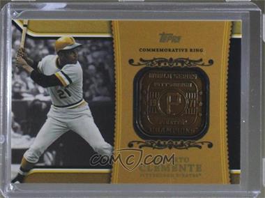 2012 Topps - Wal-Mart Factory Set Roberto Clemente Career Rings #WM-RC2 - Roberto Clemente