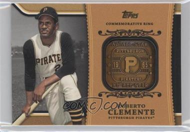 2012 Topps - Wal-Mart Factory Set Roberto Clemente Career Rings #WM-RC4 - Roberto Clemente