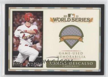 2012 Topps - World Series Champions Relics #WCR-DD - Daniel Descalso /100