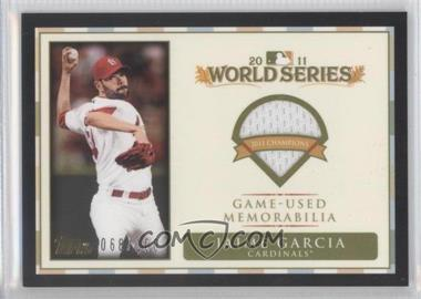 2012 Topps - World Series Champions Relics #WCR-JG - Jaime Garcia /100