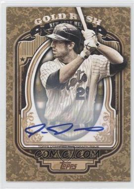2012 Topps - Wrapper Redemption Gold Rush - Certified Autograph [Autographed] #65 - Ike Davis /100