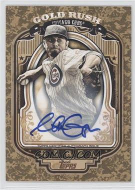 2012 Topps - Wrapper Redemption Gold Rush - Certified Autograph [Autographed] #72 - Matt Garza /100