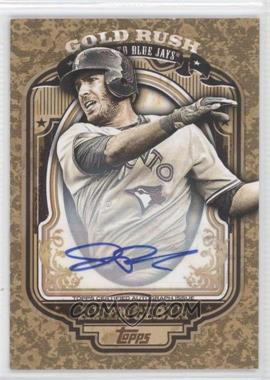 2012 Topps - Wrapper Redemption Gold Rush - Certified Autograph [Autographed] #N/A - J.P. Arencibia /100