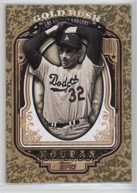 2012 Topps - Wrapper Redemption Gold Rush #47 - Sandy Koufax