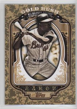 2012 Topps - Wrapper Redemption Gold Rush #50 - Hank Aaron