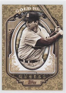 2012 Topps - Wrapper Redemption Gold Rush #52 - Stan Musial