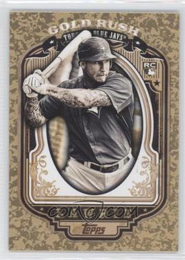 2012 Topps - Wrapper Redemption Gold Rush #58 - Brett Lawrie