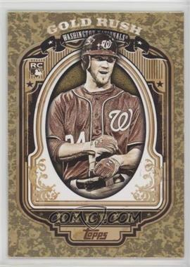 2012 Topps - Wrapper Redemption Gold Rush #60 - Bryce Harper