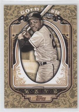2012 Topps - Wrapper Redemption Gold Rush #96 - Willie Mays