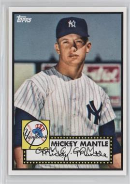 2012 Topps '52 Retro VIP - National Convention [Base] #408 - Mickey Mantle