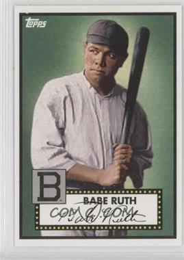 2012 Topps '52 Retro VIP - National Convention [Base] #412 - Babe Ruth