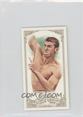 2012 Topps Allen & Ginter's - [Base] - Minis Allen & Ginter Back #129 - Michael Phelps