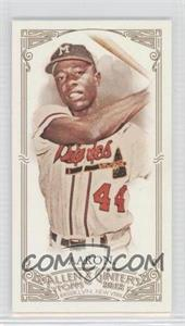 2012 Topps Allen & Ginter's - [Base] - Minis Allen & Ginter Back #247 - Hank Aaron