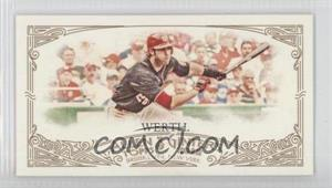 2012 Topps Allen & Ginter's - [Base] - Minis Allen & Ginter Back #302 - Jayson Werth