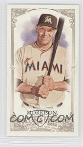 2012 Topps Allen & Ginter's - [Base] - Minis Allen & Ginter Back #326 - Logan Morrison