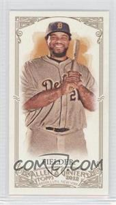 2012 Topps Allen & Ginter's - [Base] - Minis Allen & Ginter Back #338 - Prince Fielder
