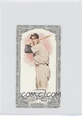 2012 Topps Allen & Ginter's - [Base] - Minis Black Border #181 - Joe DiMaggio