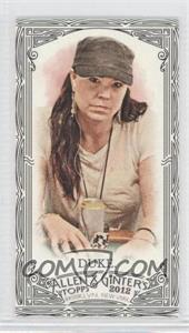 2012 Topps Allen & Ginter's - [Base] - Minis Black Border #87 - Annie Duke