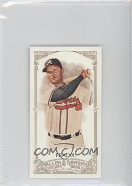 2012 Topps Allen & Ginter's - [Base] - Minis Red Allen & Ginter Baseball Back #208 - Martin Prado /25